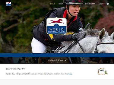 World Equestrian Brands Website