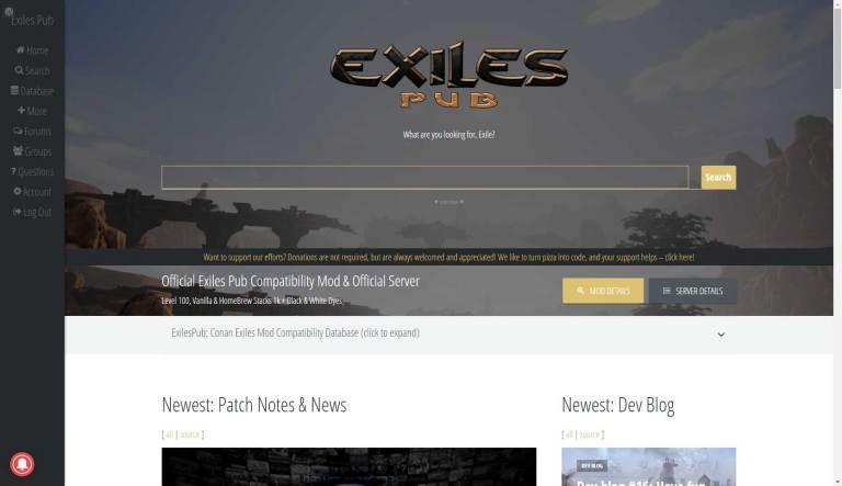 Exiles Pub