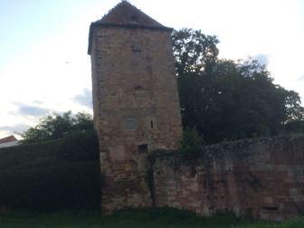 Original town wall.