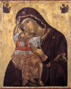 Άγγελος Ακοτάντος, Παναγία Καρδιώτισσα