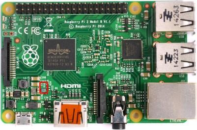 Raspberry PI 2 U16