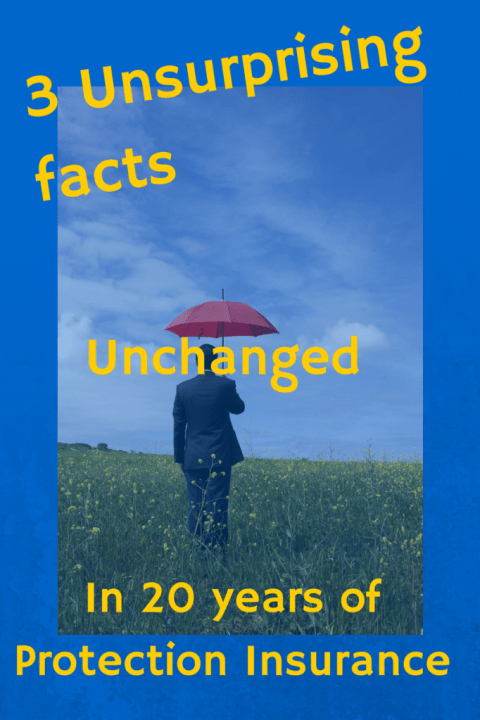 3 Unsurprising Facts Unchanged in 20 years of Protection Insurance