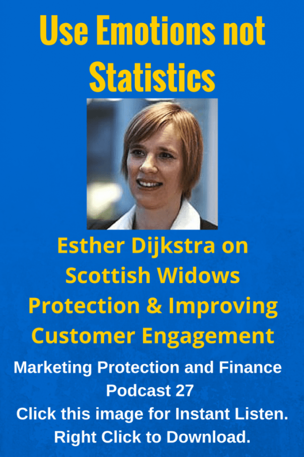 Esther Dijkstra on Scottish Widows Protection and Improving Customer Engagement