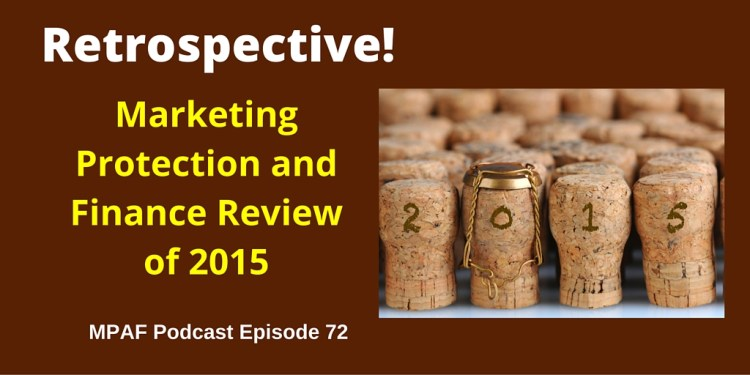 Marketing Protection and Finance Review