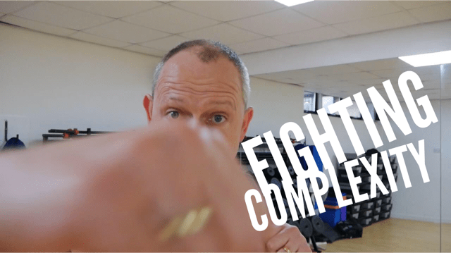 Fighting Complexity - speaking at Content Marketing Academy Live 2017