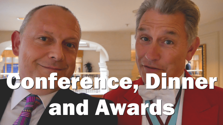 Behind the scenes of Protection Review Conference, Dinner and Awards - RogVLOG -13
