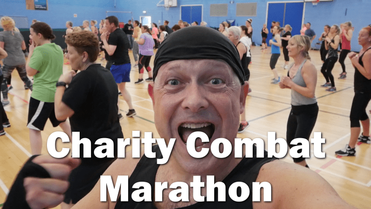 3 hour Body Combat charity fitness marathon - RogVLOG16