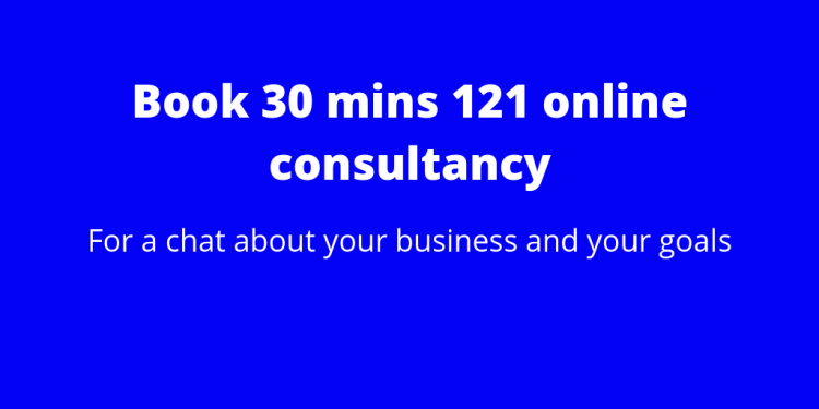 121 online consultancy and coaching