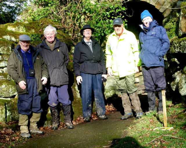 Jan 31 2018 Calvery & Middleton Woods Pub: The Ilkley Moor Vaults Leaders: Alan & Ron