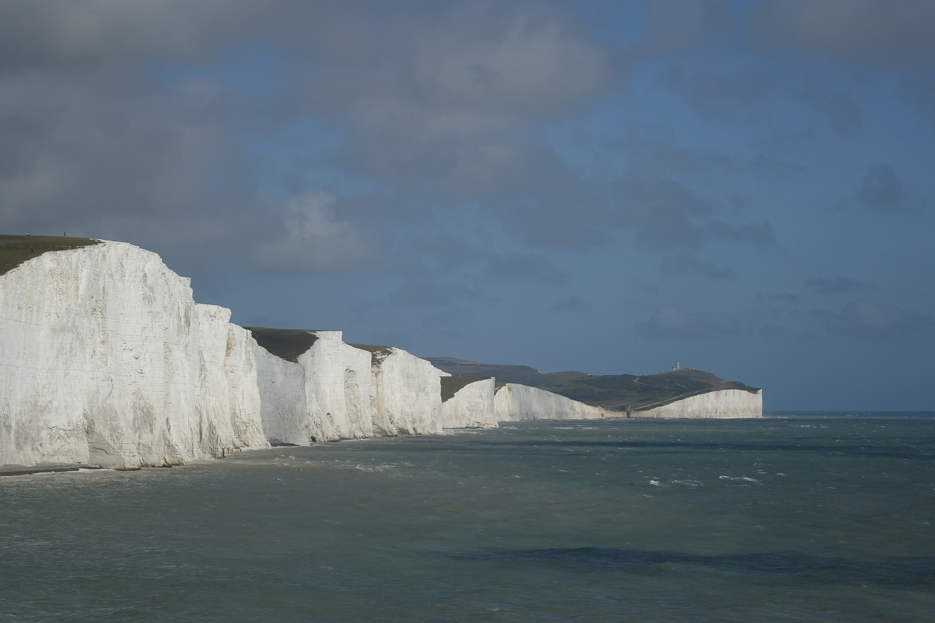 Cliffs at English Channel