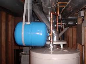thermal expansion tank support