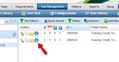Run a single Test Case in QA Complete