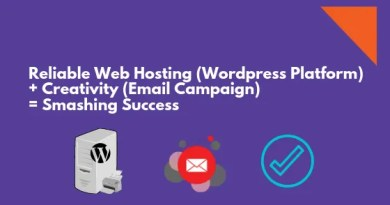 Reliable Web Hosting (Wordpress Platform) + Creativity (Email Campaign) = Smashing Success