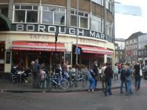 Borough Market, front entrance