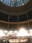 Not Dumbledore's Office. (Inside the Round Reading Room of the Maughan Library.)