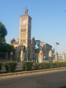 The Toledo train station. Keep point to note here is the temp-- 45C or 113F!