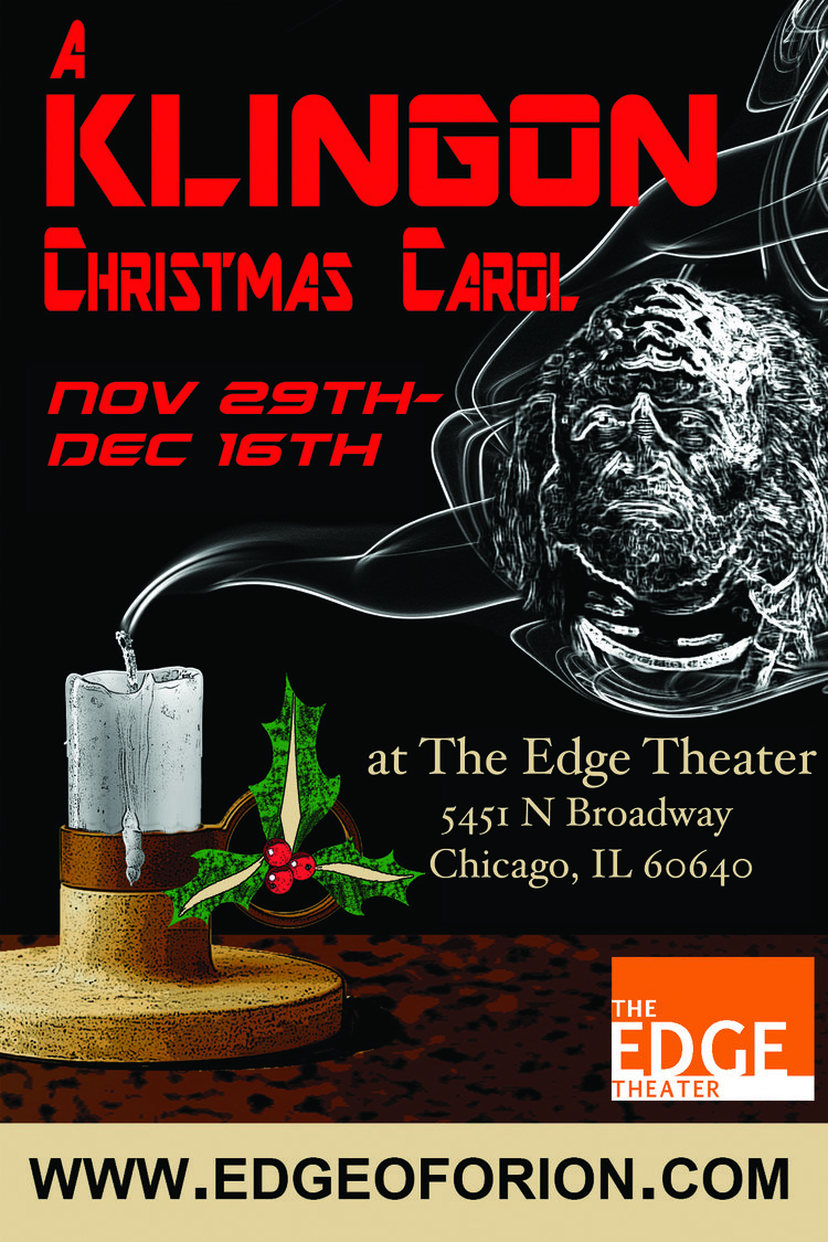 Edge Theater Crosses New Frontier – A Christmas Carol … in Klingon ...
