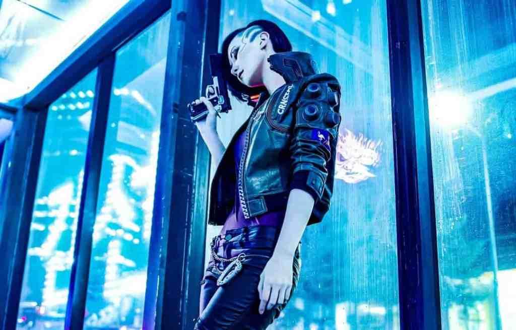 Cyberpunk 2077 (popular cosplays in 2020)