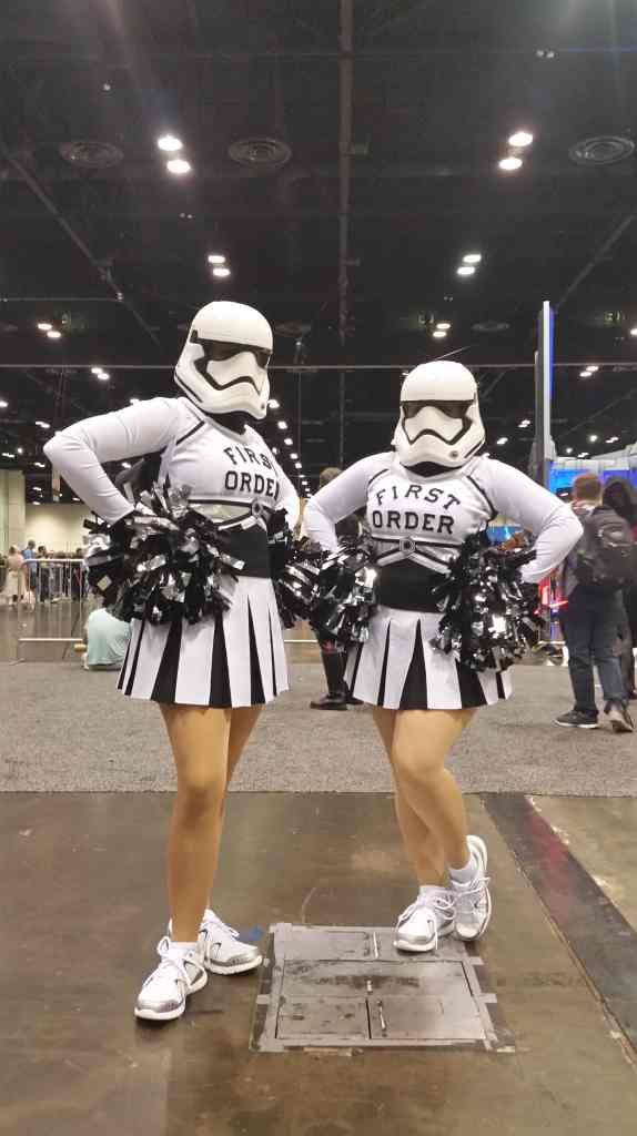 Star Wars - cosplay friends