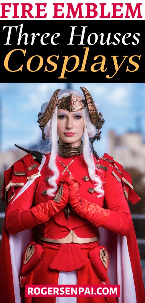 Fire Emblem Three Houses cosplay (Pinterest)
