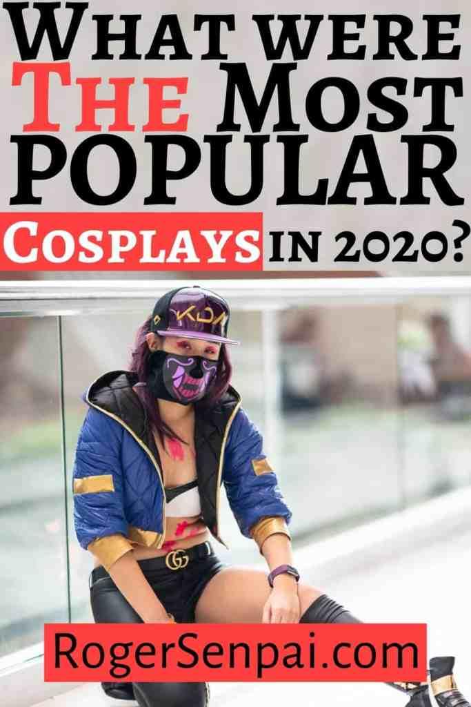 popular cosplays for 2020 Pinterest