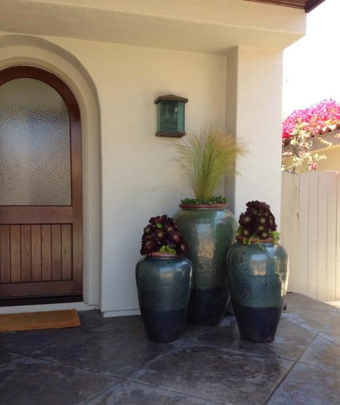Matzner succulent grass pots
