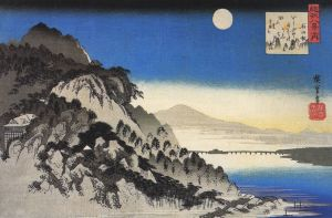 800px-Hiroshige_Full_moon_over_a_mountain_landscape