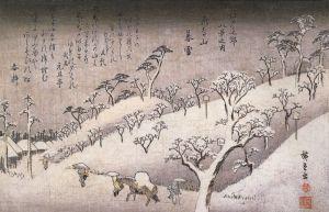 800px-Hiroshige_People_walking_through_snowy_hills
