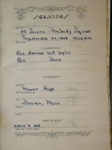 George C. Smith, Sr. internment record photo-2