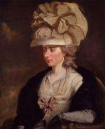 portrait of Frances Burney (aka Fanny Burney)