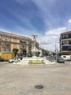 central square, Moguer