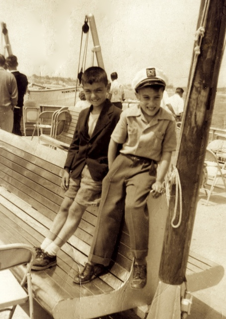 Roger and Eddie Rizzo, Provincetown