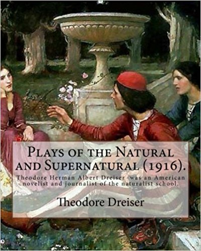 book cover, 'Plays of the Natural and Supernatural' (Create Space)