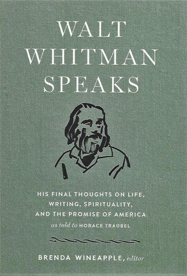 'Walt Whitman Speaks' -book cover