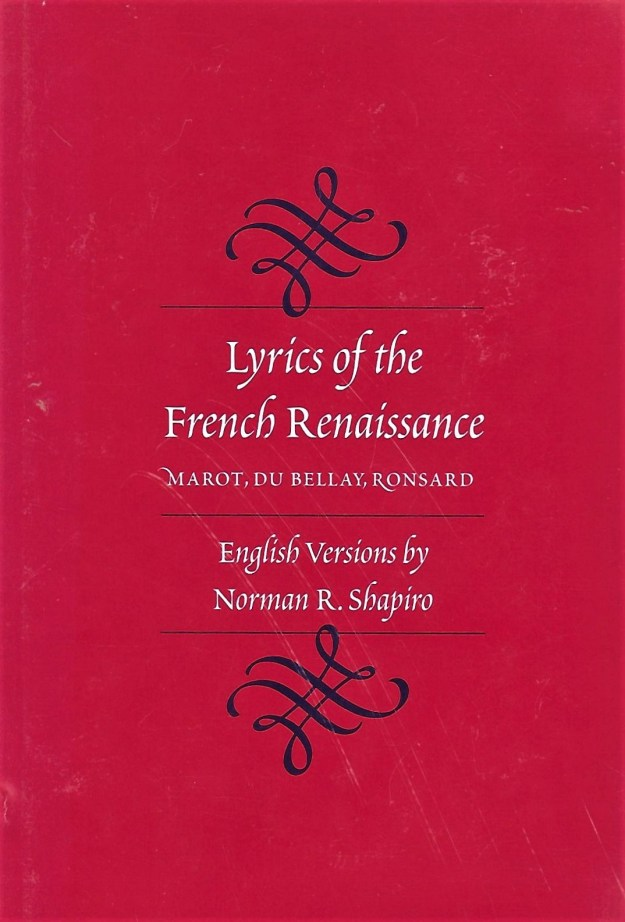 cover - Lyrics of the French Renaissance