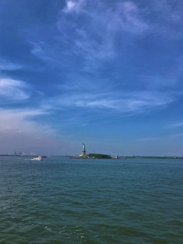 New York Harbor 11-11 a.m. 5-29-2018