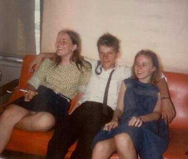 Sarah Conrad, John Fountain, and Alison Titus