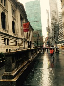 42nd Street between Fifth and Sixth Avenues, April 11, 2016