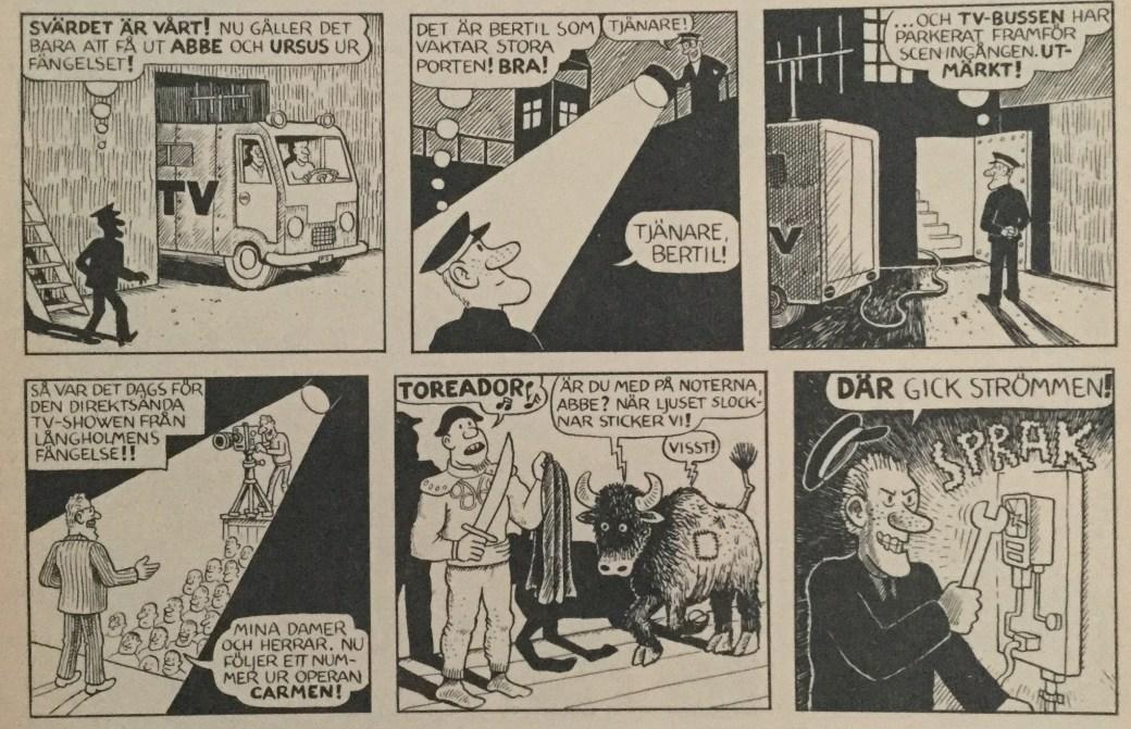 Felix och Cecilia ur Felix Äventyr av Carlsen Comics