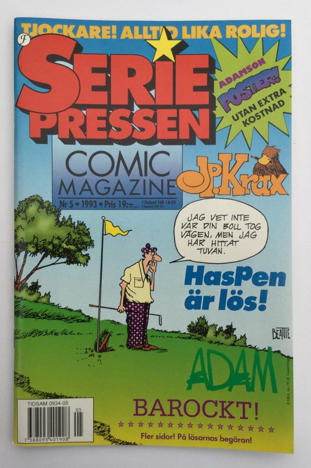 Seriepressen nr 5, 1993