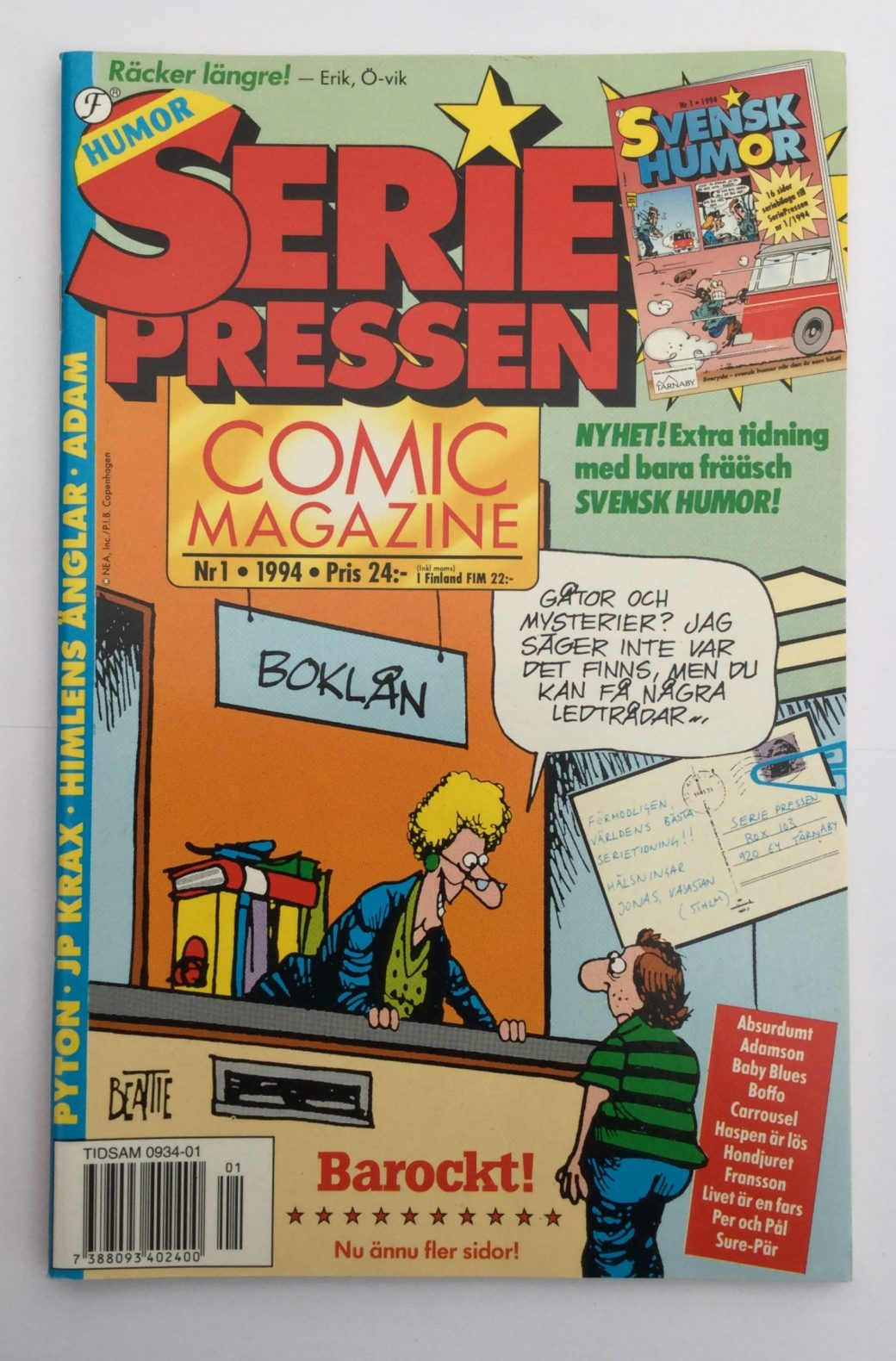 Seriepressen nr 1, 1994