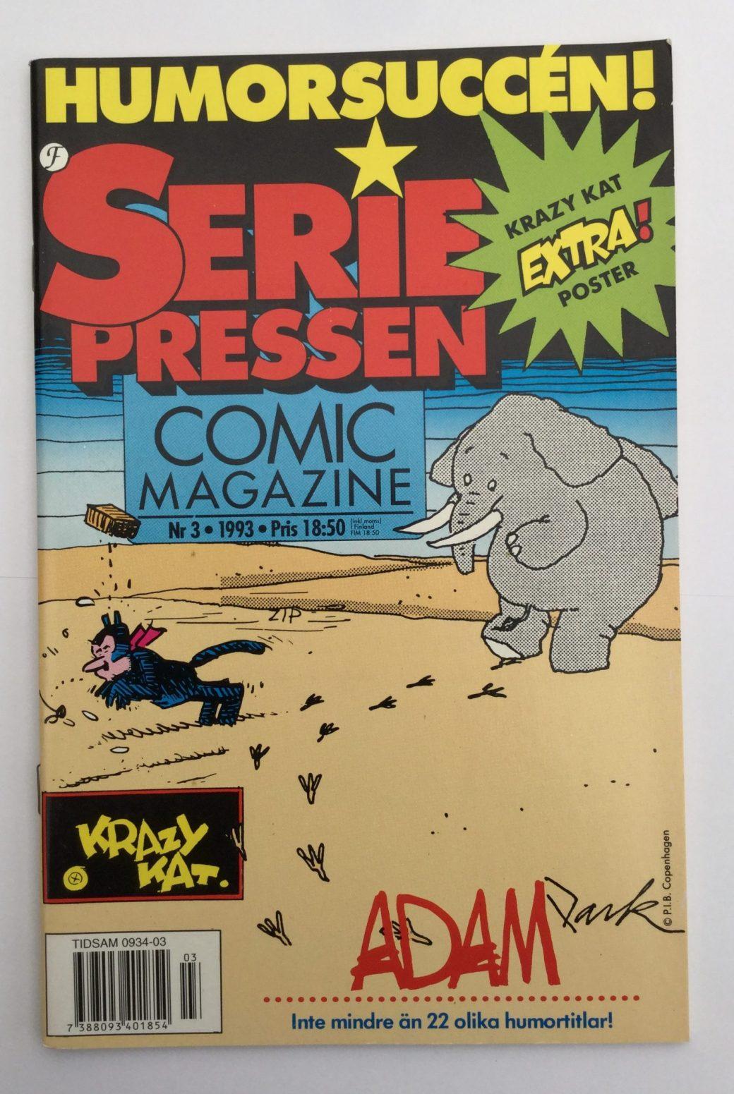 Seriepressen nr 3, 1993