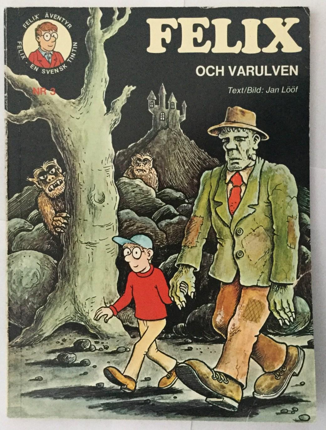 Felix och varulven Av Carlsen Comics
