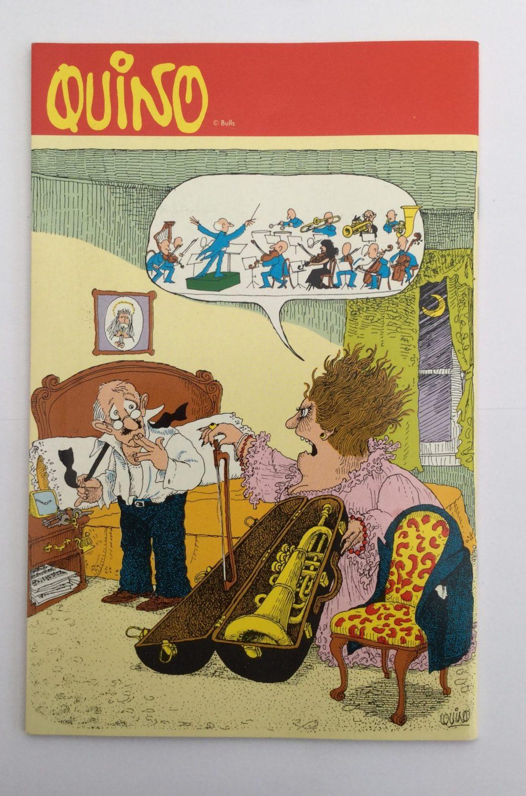 Quino i Seriepressen nr 8, 1993
