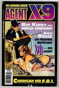 Corrigan i Agent X-9 i nr 5, 1993