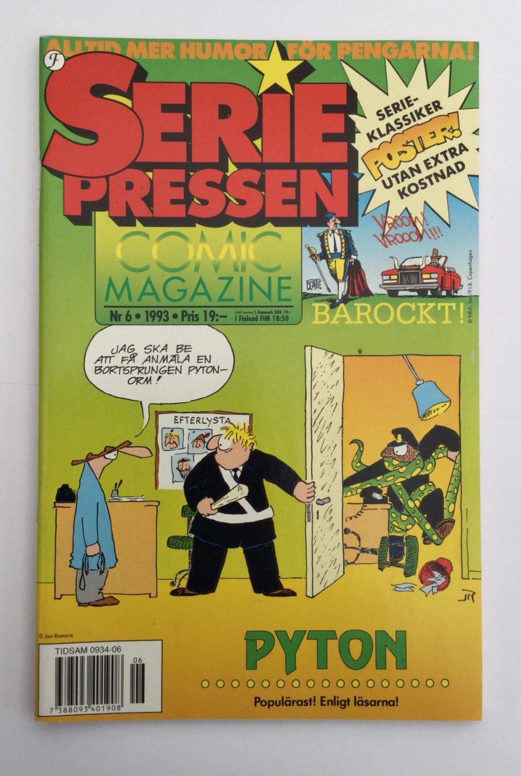 Seriepressen nr 6, 1993