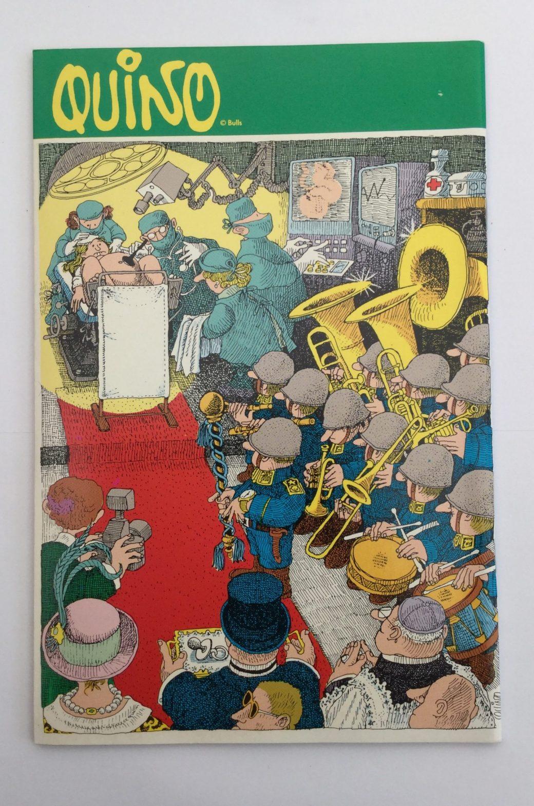 Quino i Seriepressen nr 9, 1993