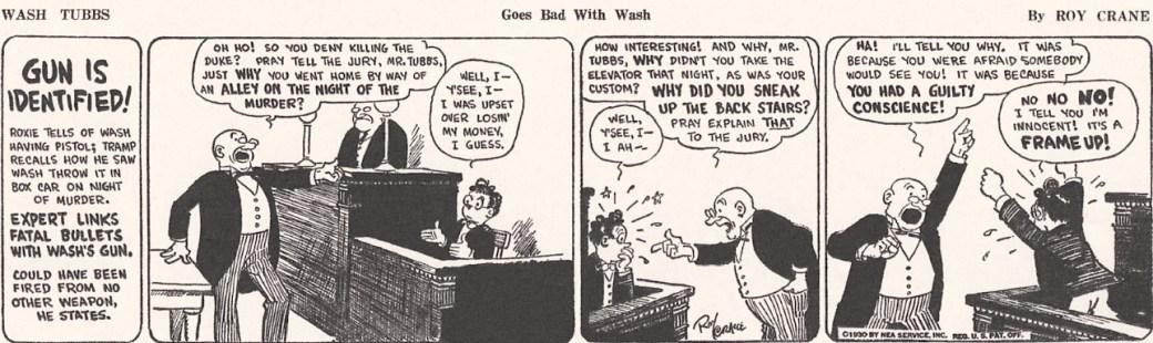 En Wash Tubbs-stripp från 1930