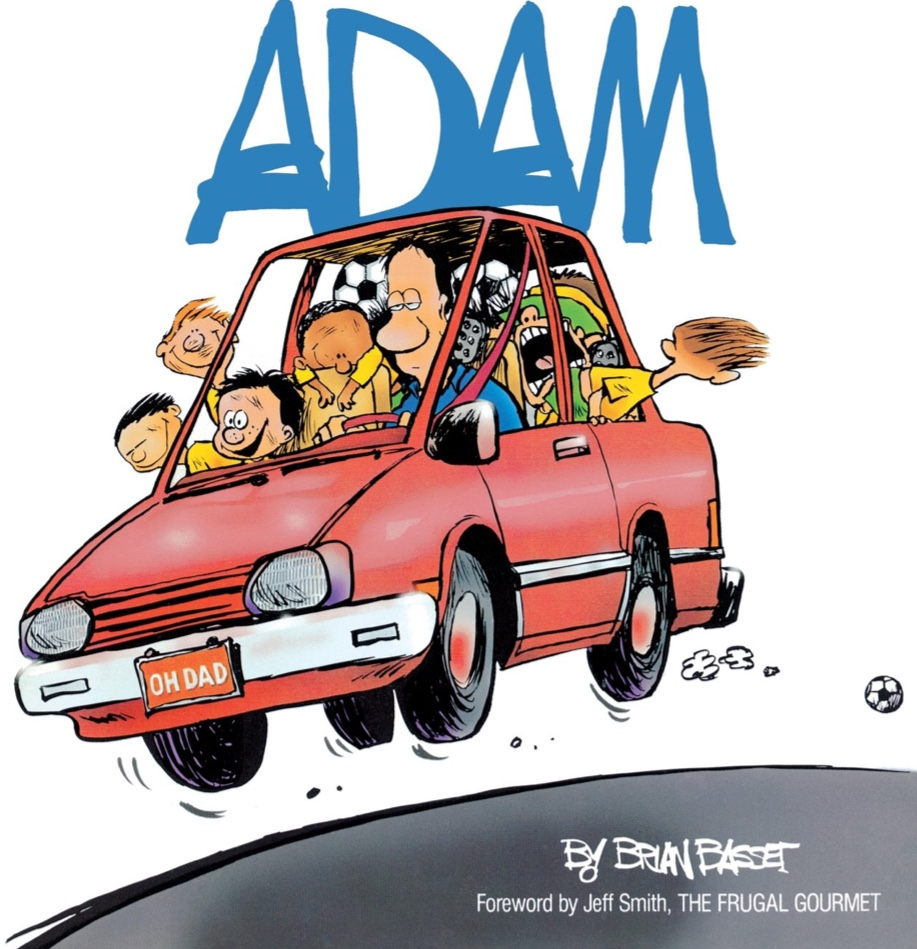 Adam blev den serie Basset tecknade 1984-2009