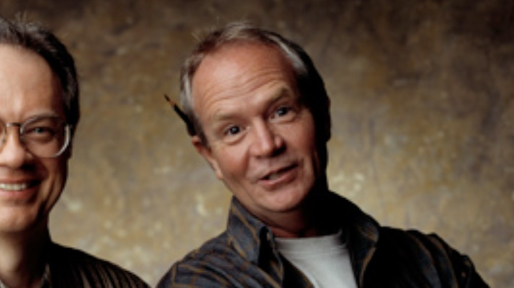 Jerry Scott gör Baby Blues tillsammans med Rick Kirkman